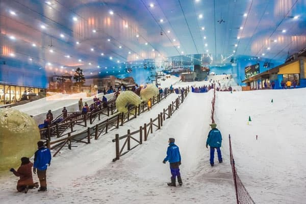 Ski Dubai Slope Activity